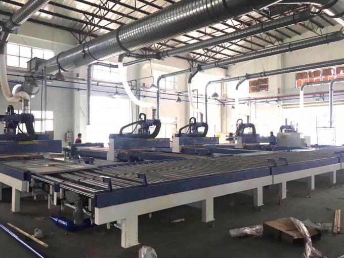 High Efficiency Wooden Door Production Line With Japan YASKAWA Servo Motor