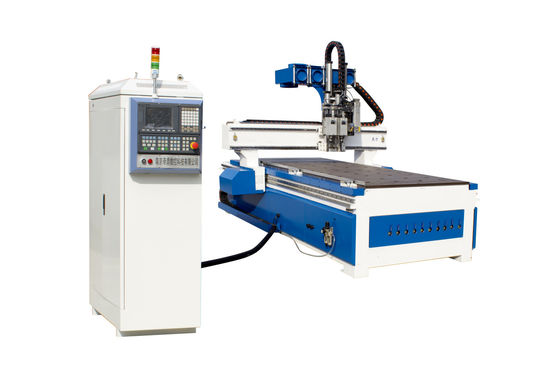 China 6KW 3D CNC Woodworking Machines Computer Controlled Router For Wood Carving supplier