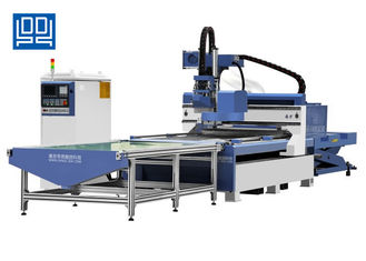 China 9KW 3D Engraving ATC CNC Router Machines 1325 CNC Door Making Machine supplier