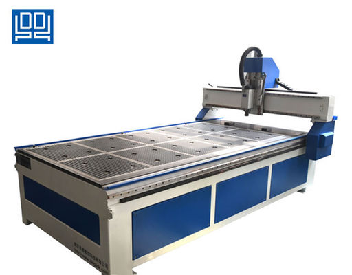 China Steel Tube Welded Standard Cnc Wood Router With Air Cooled Vacuum Table supplier