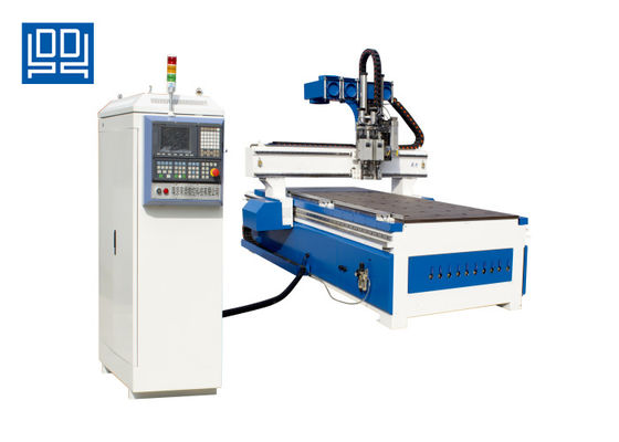 China 6Kw Air Cooled Woodworking Cnc Router Machine Pcb Cnc Router Wood Carving Machine supplier