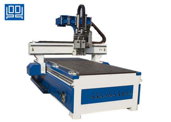 China CNC Woodworking Equipment Drilling And Cutting Machine Automatic Oil Lubrication supplier