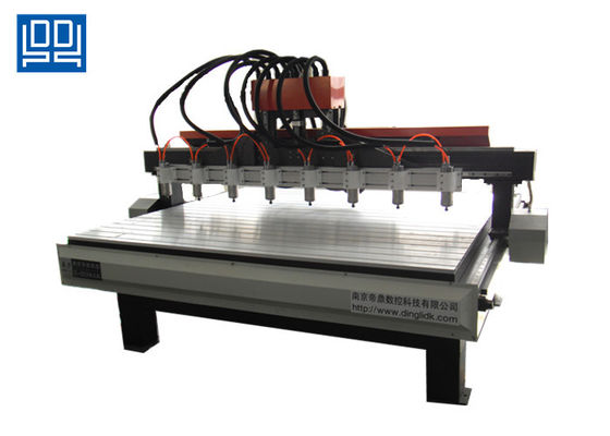 China NC Studio Control Multi Spindle Cnc Router Cutting For Furniture Industry supplier