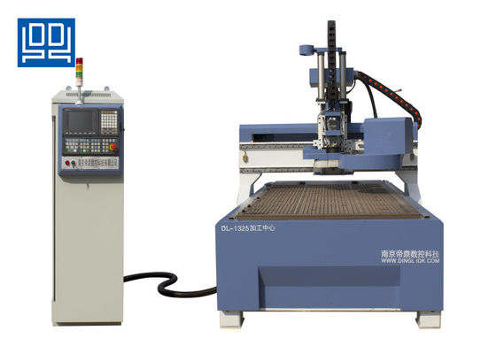 Multi Purpose Wood Industrial Cnc Router 1325 With Ball Screw Rod Transmission