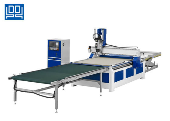 4X8 Ft Automatic Wood Cutting CNC Router With Auto Loading And Unloading System