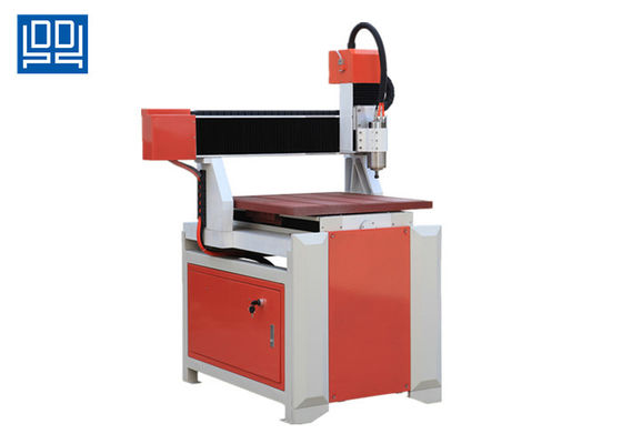 Square Guide Rail Small CNC Router Machine 6060 Table Movement 24000rpm