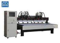 Two Drive Eight Multi Head CNC Router Equipment For Wood Composite Door