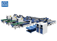 Fully Automatic Cabinet Production Line X Y Z Axis 1300X2400 Roller Type